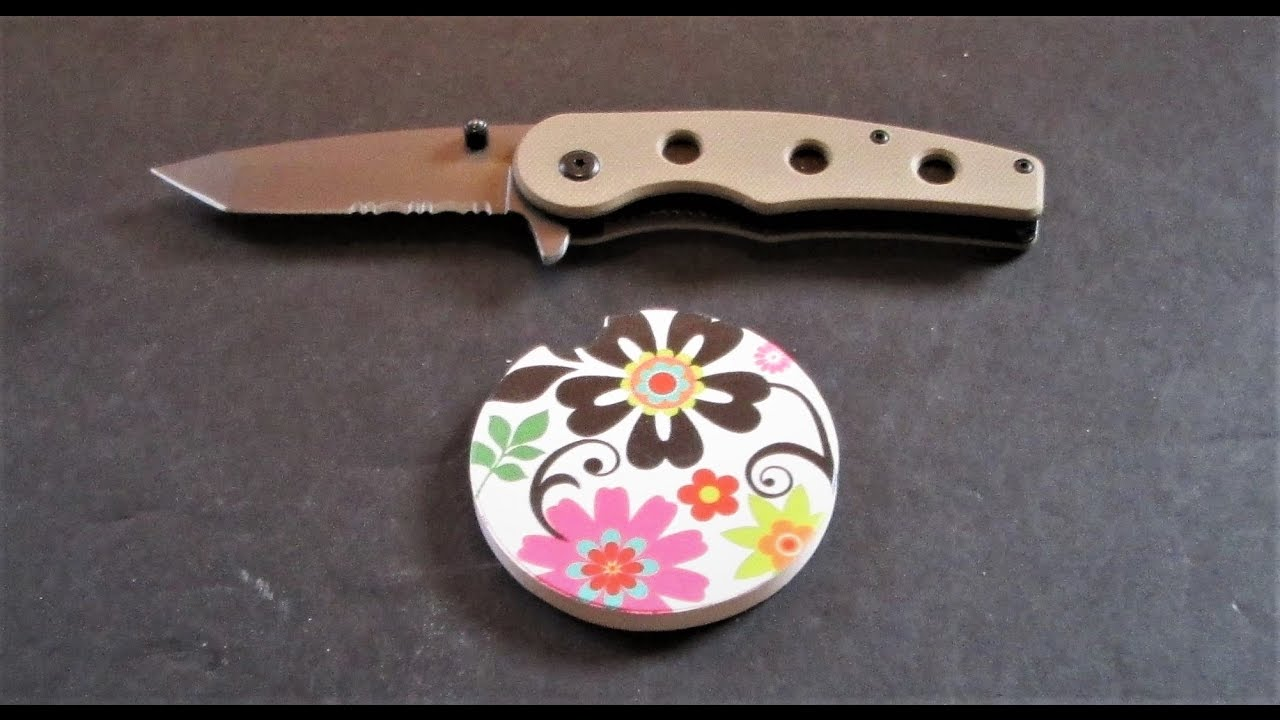 Ceramic Cup Holder Coaster Sharpens Knives Doovi
