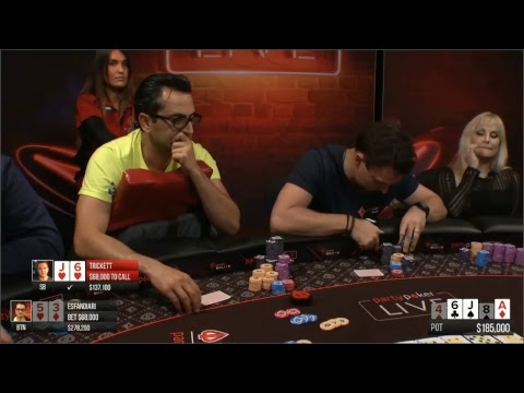 High Stakes Poker $100,000 Buy-in NLH: blinds $100/$200 BIG POTS NLH