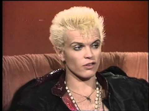 Billy Idol Interview 1984