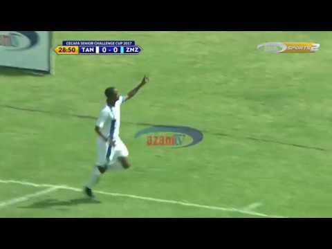 Azam TV - CECAFA2017: Bao la Himid Mao akiitanguliza Tanzania Bara vs Zanzibar