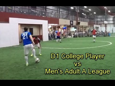 D1 College Soccer Player Vs Men's A League