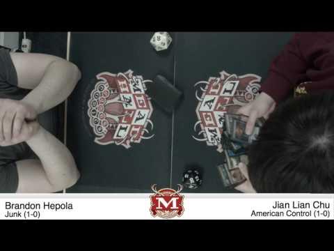 Brandon Hepola vs. Jian Lian Chu - Late Night FNM: Round 2