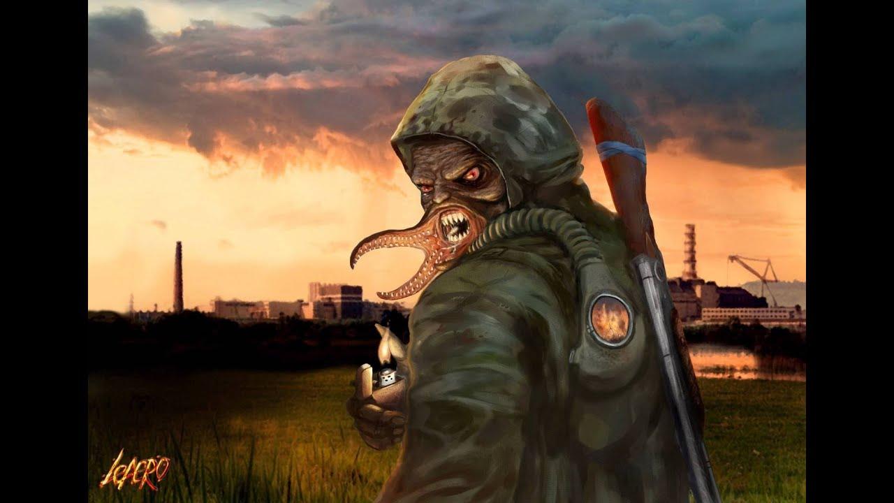 картинки сталкер мутанты