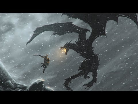 """(Nightcore) SKYRIM THEME - """"Dragonborn"""" (METAL/ROCK COVER by Jonathan Young)"""