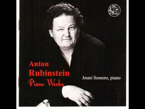 Anton Rubinstein: Réve Angélique Jouni Somero,piano