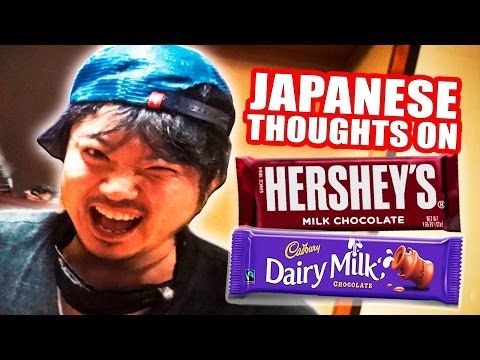 Japanese Thoughts on Foreign Chocolate