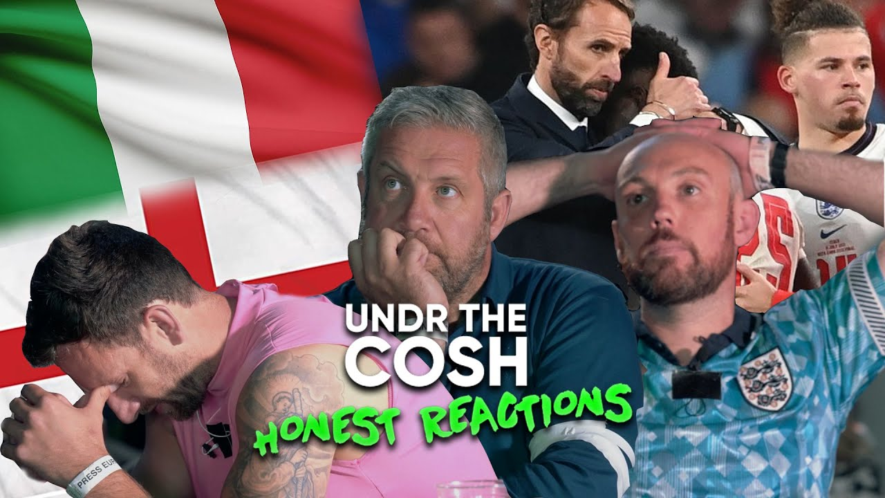 England Fall At The Final Hurdle v Italy - Undr The Cosh Honest Reactions
