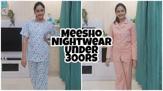 Meesho Nightwear Haul    Nightwear Sets For Just 300 RS