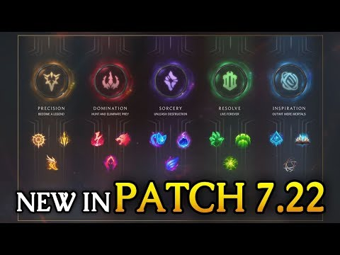 NEW IN 7.22 PRESEASON! Jungle/XP/Rune CHANGES (League of Legends)
