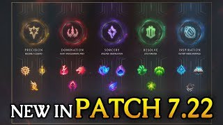 NEW IN 7.22 PRESEASON! Jungle/XP/Rune CHANGES (League of Legends)