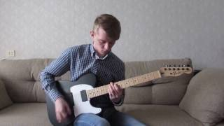 Slipknot - Psychosocial guitar cover (Fender Jim Root Telecaster)