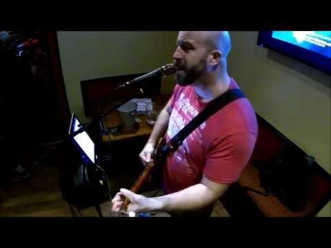 Running on Faith -Jerry Lynn Williams/Eric Clapton cover solo live at Mondo Pizza & Bar