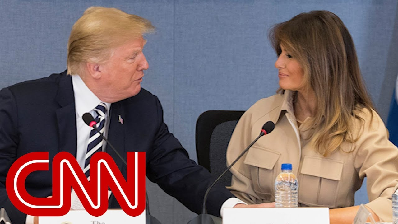 Melania Trump makes first media appearance in 26 days