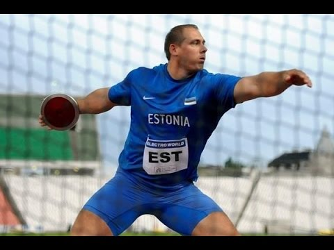 Gerd Kanter - The Best Discus thrower