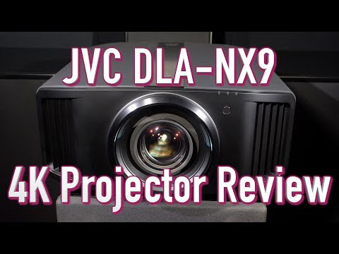 JVC DLA-NX9 (RS3000) 4K Projector Review With 8K E-Shift
