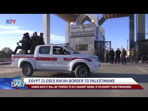 Egypt closes Rafah border to Palestinians