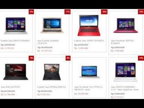 cek harga laptop asus terbaru 2017