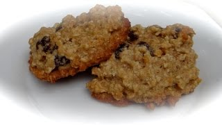 Oatmeal cookies/Овсяное печенье