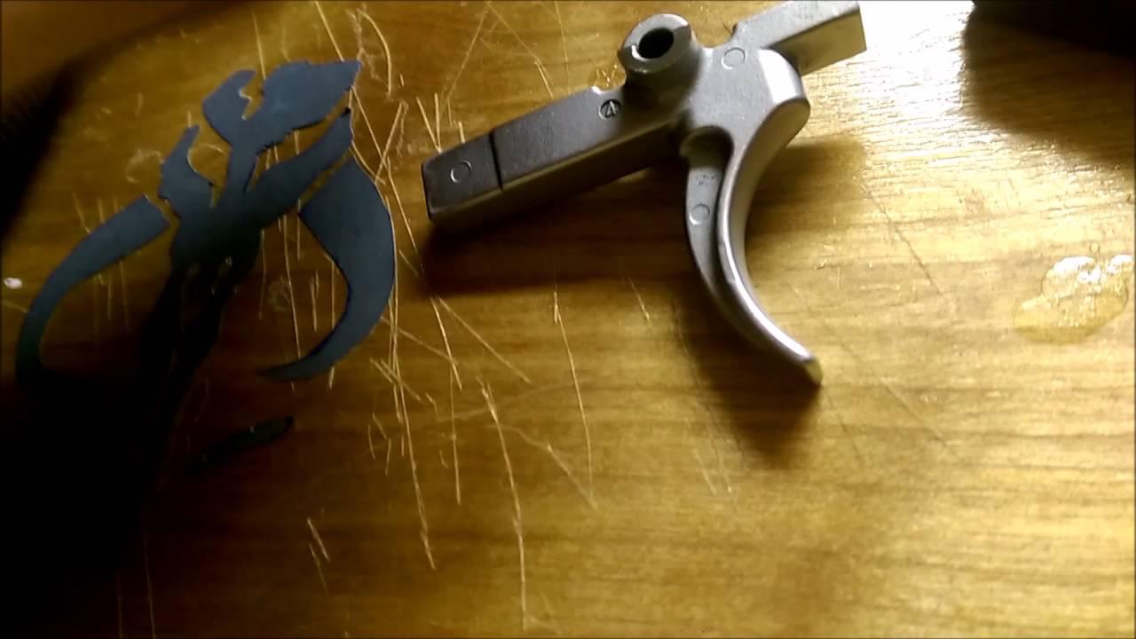 AR15 trigger polishing