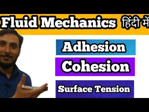 Adhesion in hindi
