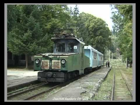 Borjomi-Bakuriani (Georgia) Narrow Gauge Railway / Schmalspurbahn - 09.1999