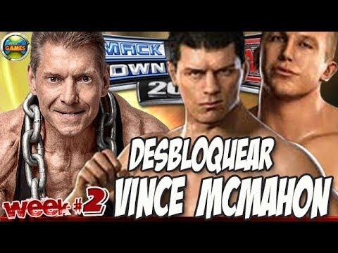 WWE Desbloquear Vince Mcmahon #Week2 SvR 2011 from YouTube · Duration:  3 minutes 50 seconds