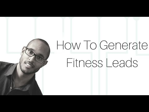 How to Generate Fitness Leads