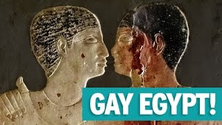 FIRST ANCIENT GAY EGYPTIAN COUPLE!