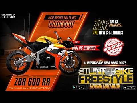 Stunt Bike Freestyle New Bike Zbr 600 R Unlocked Youtube