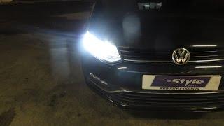 подсветка бардачка за 2 минуты / VW polo sedan