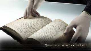 Originál knihy Mysterium tremendum (tiskem vychází 1. června 2015)