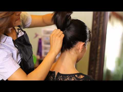 How to Do a Perfect Ponytail With No Lumps : Tress to Impress