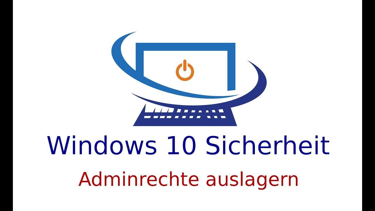 Adminrechte Windows 10