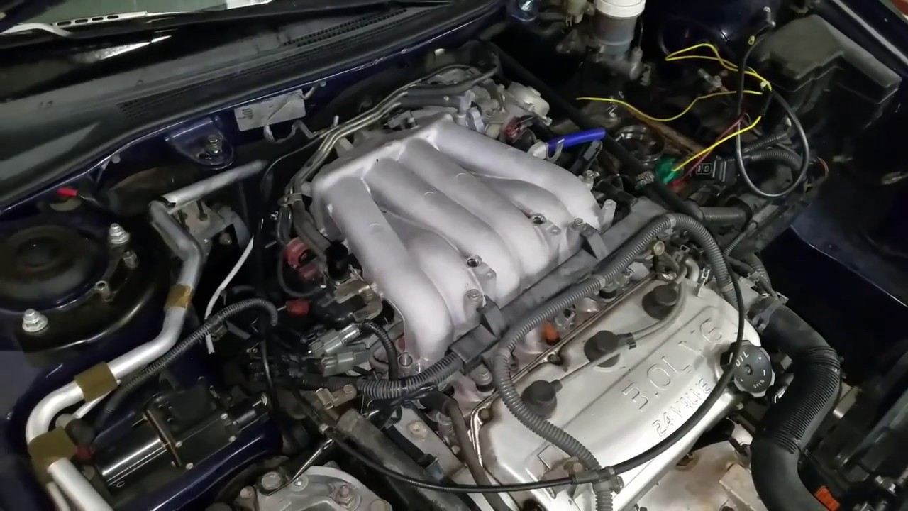 hight resolution of intake manifold removal mitsubishi eclipse 2001 gt