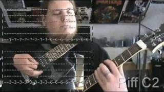 Six Feet Under - Ghosts of the Undead - Death Metal Guitar Lesson for Beginners
