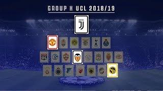 Juventus' 2018/19 UEFA Champions League draw
