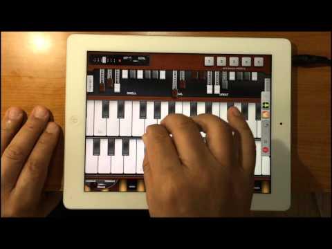 Deep Purple / Child in Time Intro - Pocket Organ C3B3 (Hammond Organ App) Drawbar Settings