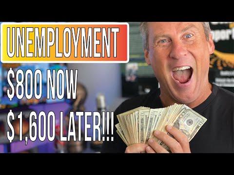 Unemployment For All 8-10-20: Trump $400 Weekly Unemployment PUA New Deadline $800 Now!