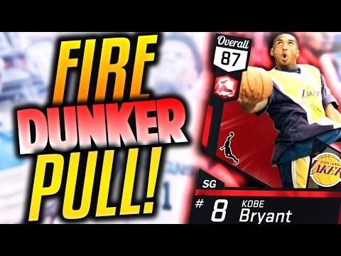 FIRE HIGH FLYER PULL! NBA 2K17 NEW HIGH FLYER PACK OPENING! NBA 2K17 MyTeam Dunker Packs!