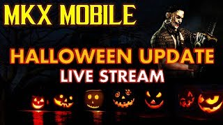 MKX Mobile 1.21 Update. Official News. Developers Stream. Halloween Update. Leatherface!