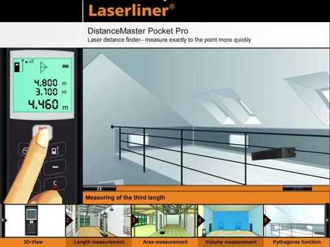 Utilmeccanica laserliner distancemaster compact pro distanziometro