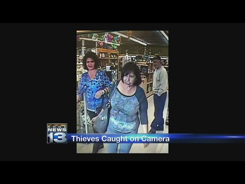 Albuquerque business warns others to keep watch for pair of thieves