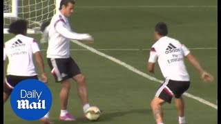 Gareth Bale fools Marcelo and James Rodriguez with disguised pass - Daily Mail