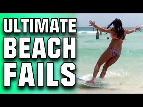 Ultimate Beach Fails | Funniest Beach Fail Compilation 2017