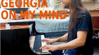 Georgia On My MInd ( Piano Cover )