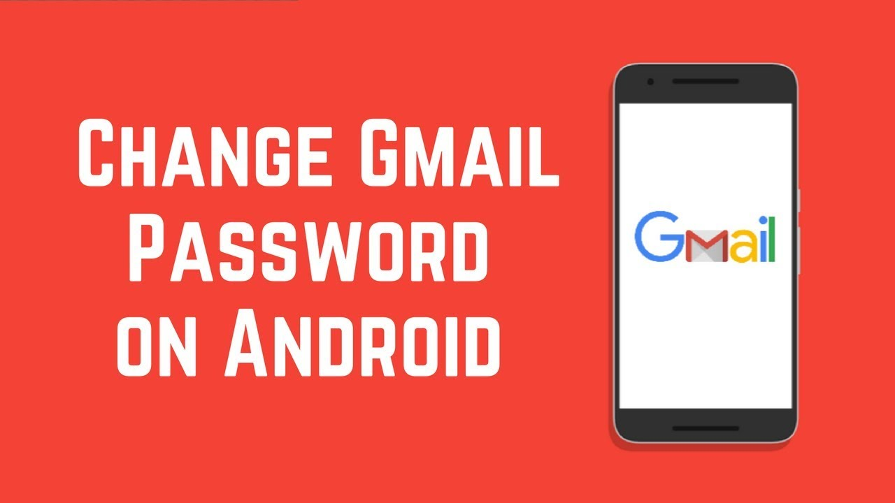 modifica password gmail