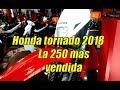 Honda Tornado 2018 - la 250 mas vendida de Argentina