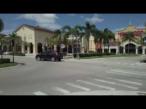 Shopping Inside Coconut Point Mall - Estero, Florida