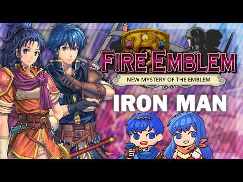 Fire Emblem New Mystery of the Emblem H2 Iron Man - Part 6!