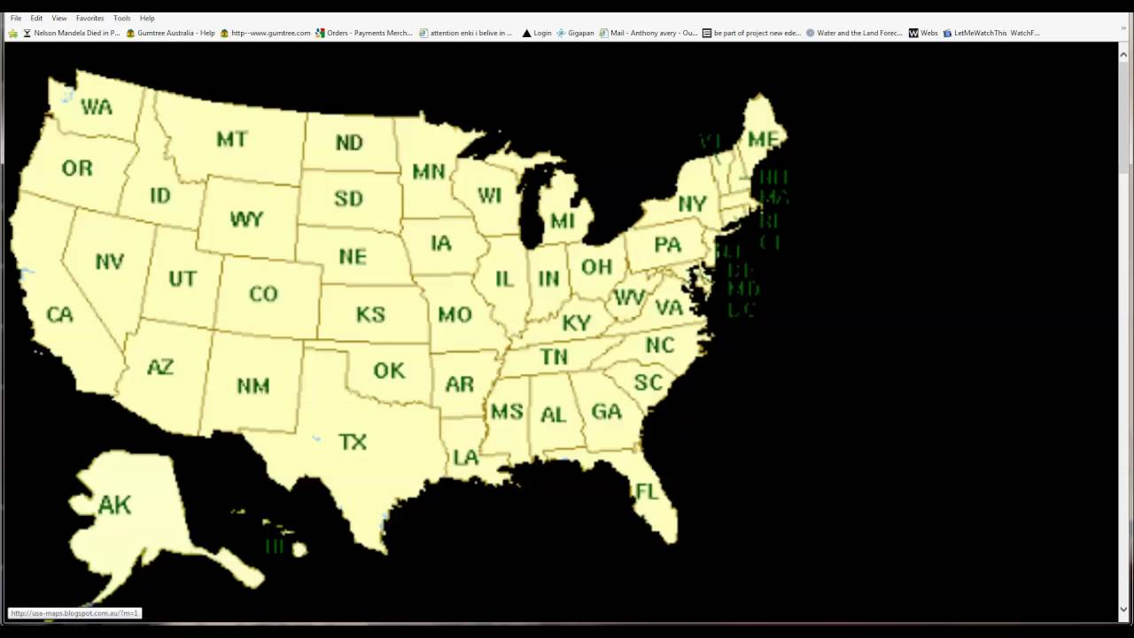 States America on